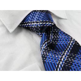 Steven Land Hi-Density Royal Blue Striped Tie Set HD72-19 ...