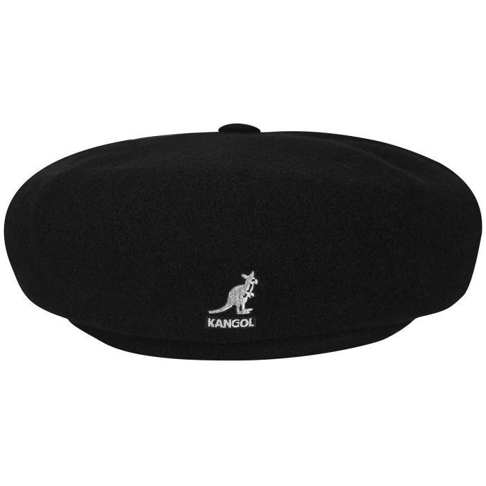 56f6b5f7924dc Kangol Cap Wool Hawker K3164HT Black