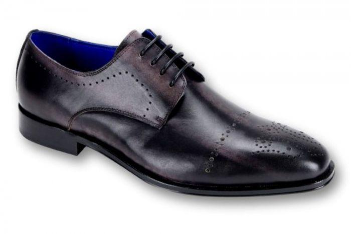 Steven Land Elite Sl0001 Square Toe Oxford Men S Dress Shoe Coal